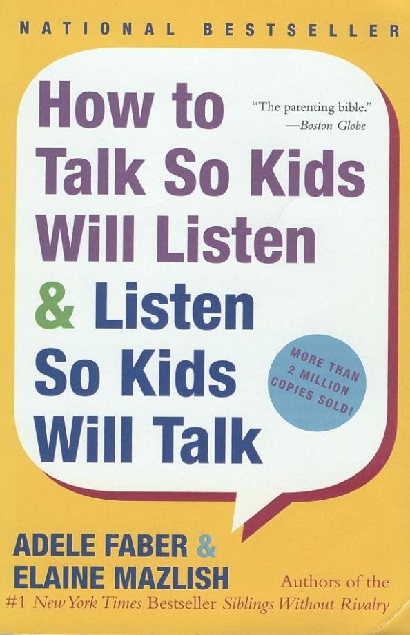 how to talk so kids will listen pdf